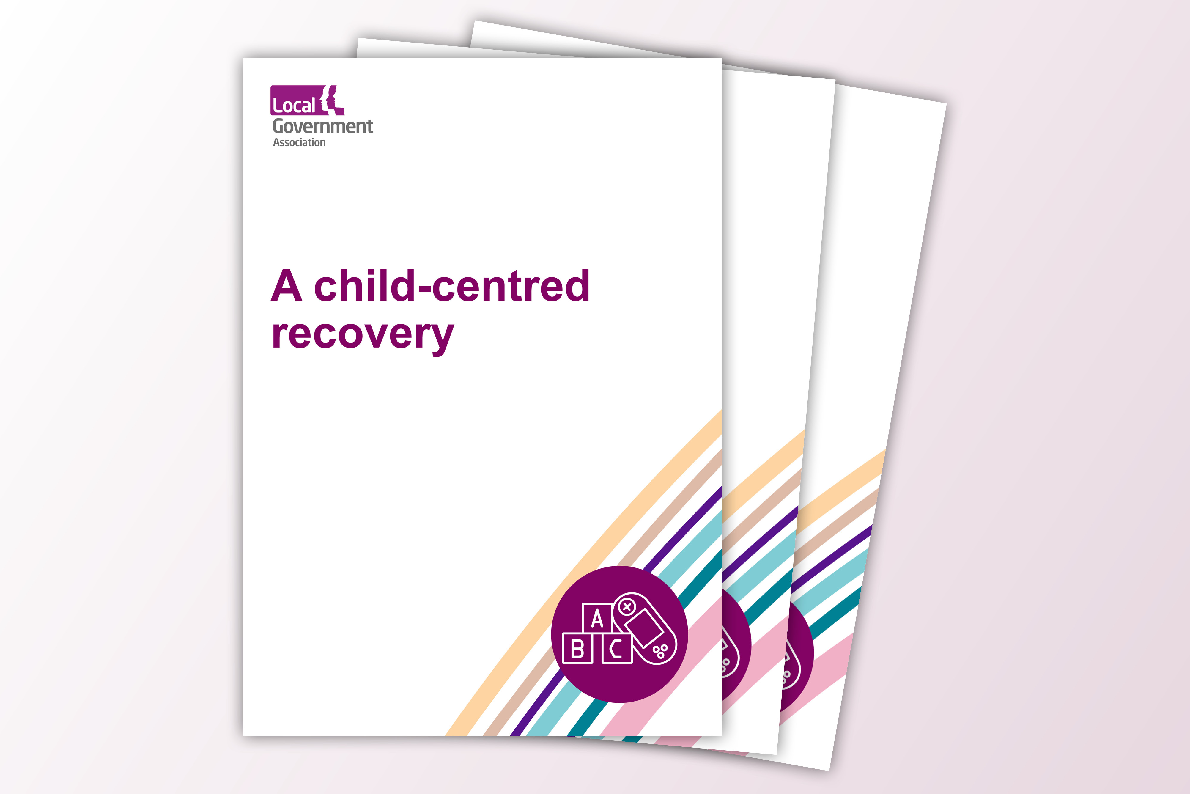 A child centred recovery front cover image