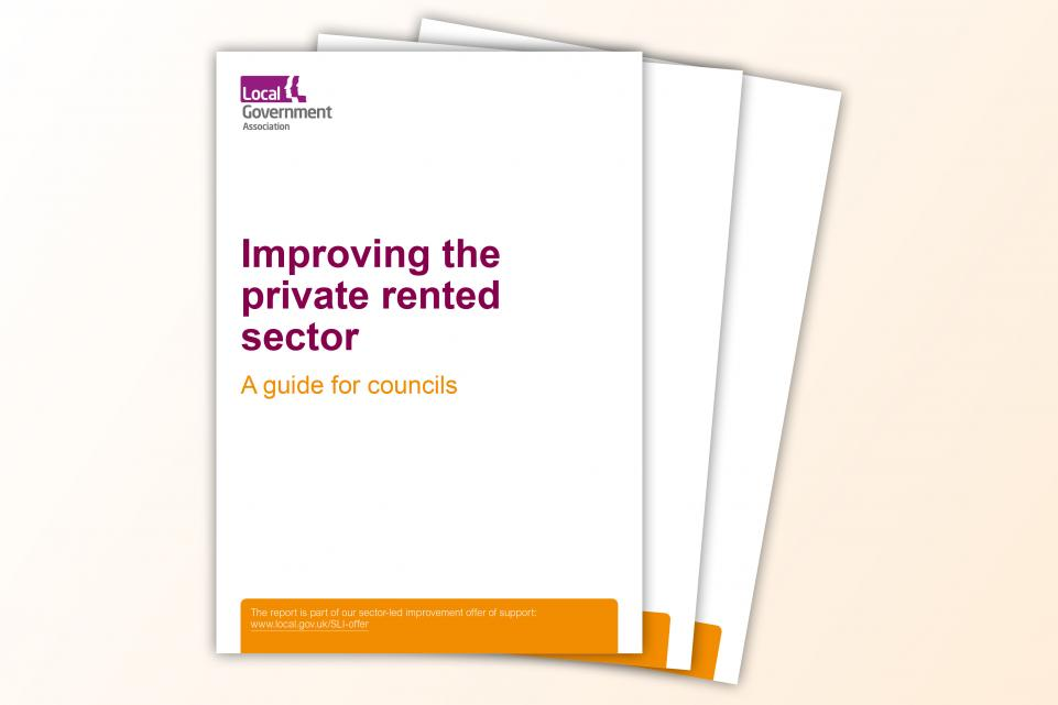 Improving the private rented sector front cover