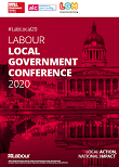 Front cover of the labour local gov 2020 agenda