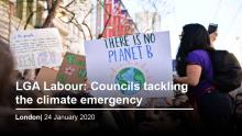 LGA Labour: Councils tackling the climate emergency, 24 January