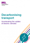 Accelerating the uptake of electric vehicles